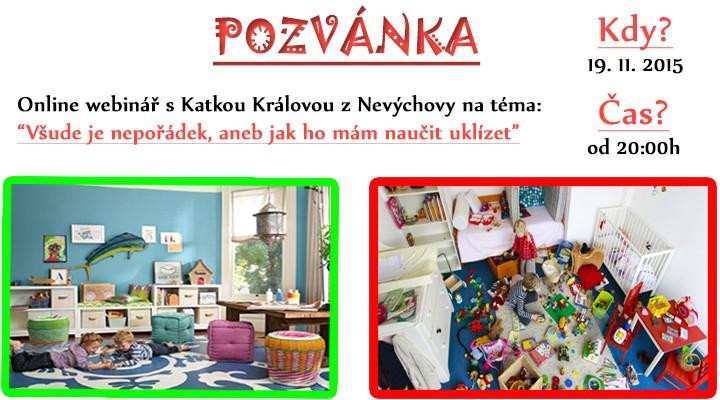 Hračky všude jsou hračky aneb jak naučit děti uklízet